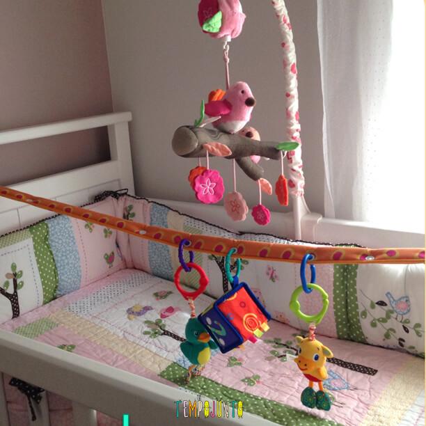 Atividades para bebês de 0 a 6 meses – #2 - berço