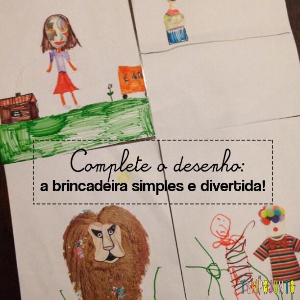 Complete o desenho: um convite à imaginação!