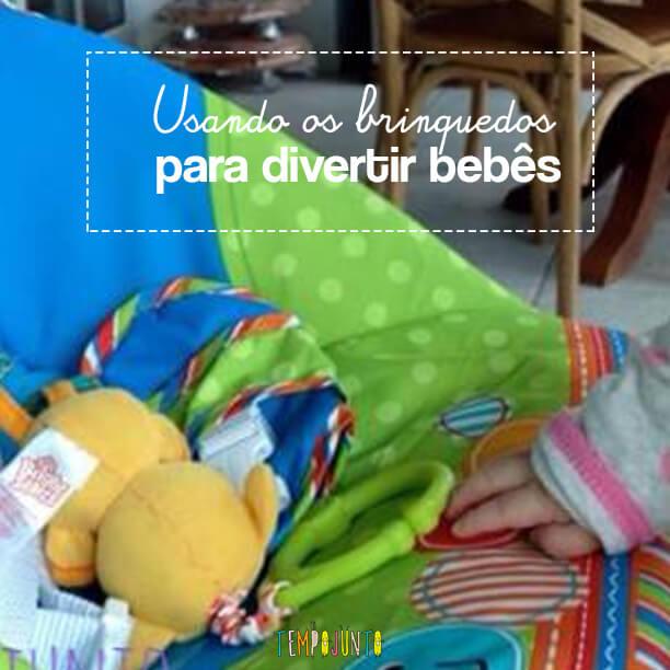 Atividades para bebês de 0 a 6 meses – #9 – Como usar os brinquedos
