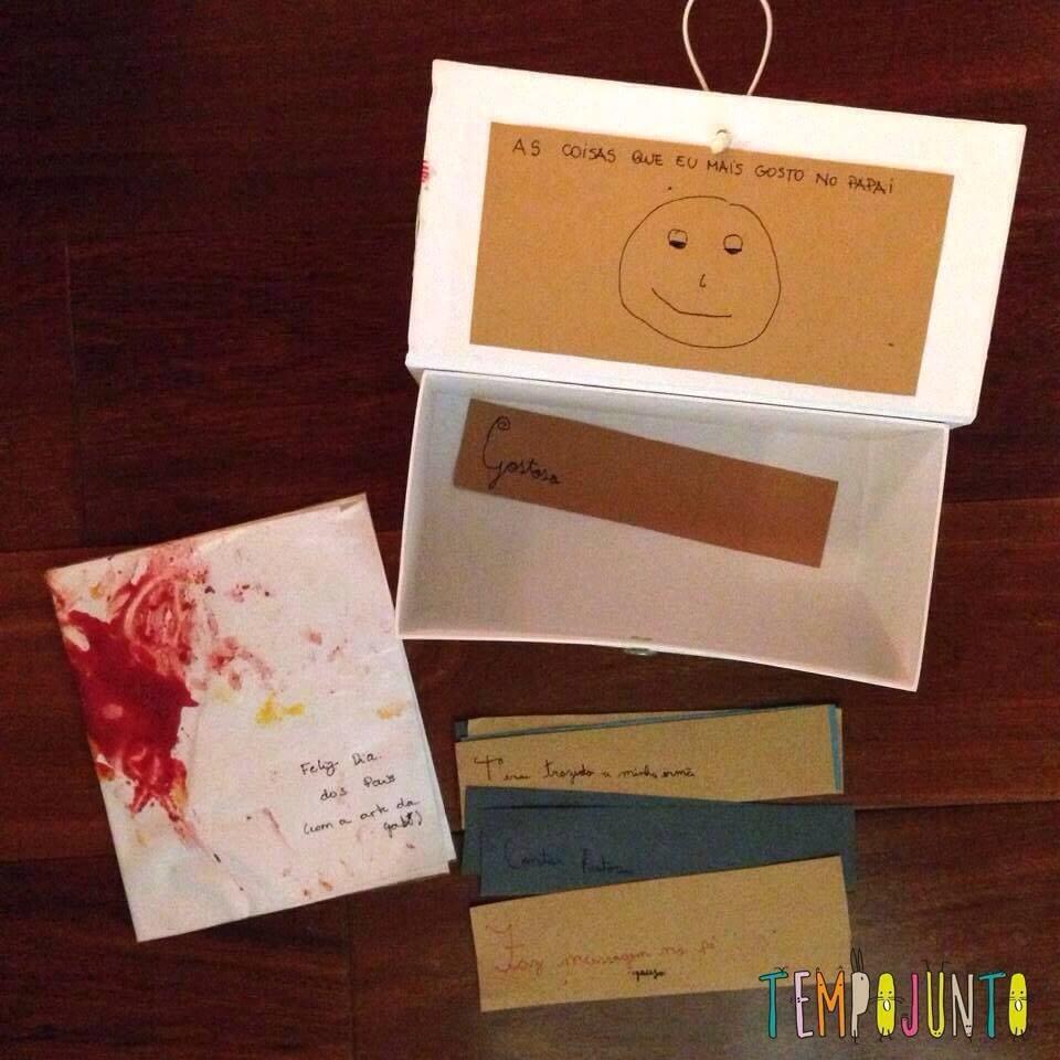presentes de ultima hora - caixa elogios
