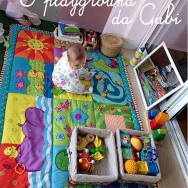 Como montar uma área de brincar para um bebê de 6 a 12 meses – parte 2