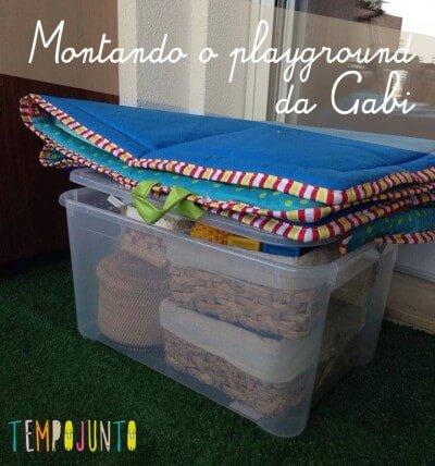 Como montar uma área de brincar para um bebê de 6 a 12 meses – parte 1