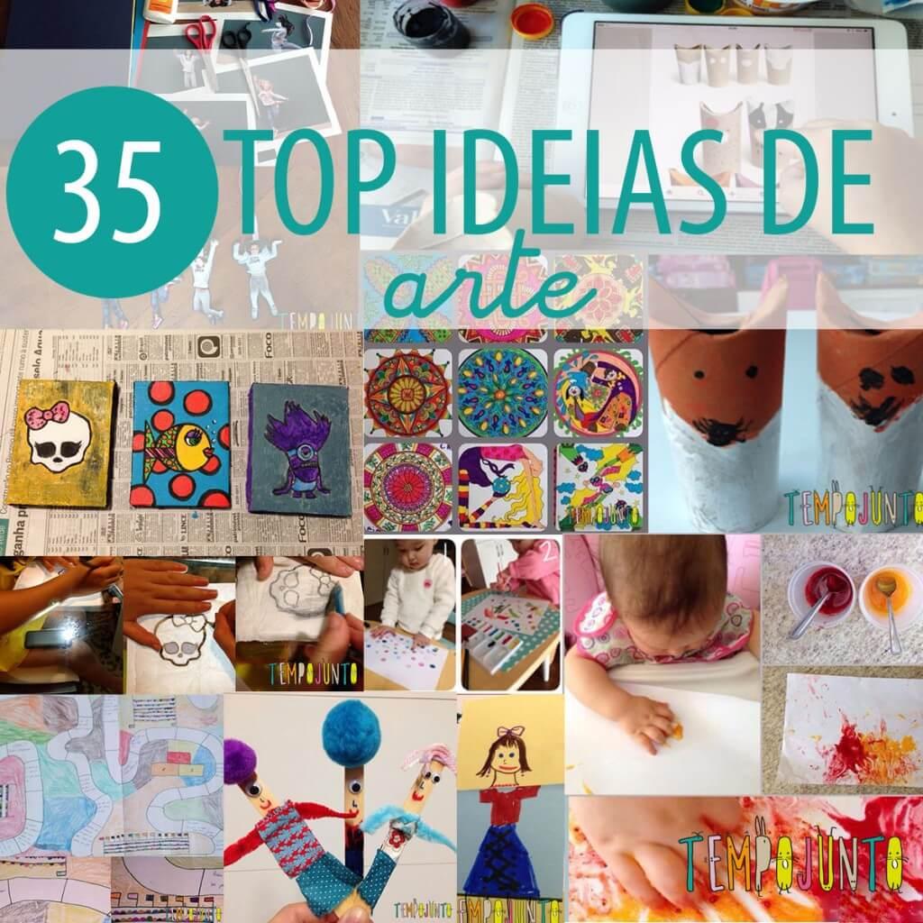 As 35 melhores ideias de atividades artísticas