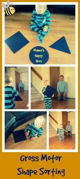 Brincadeiras do método Montessori para fazer com seu bebê - estímulo à coordenação grossa