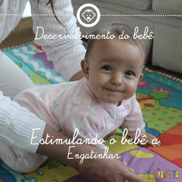 Desenvolvimento do bebê 5: como estimulá-lo a engatinhar?