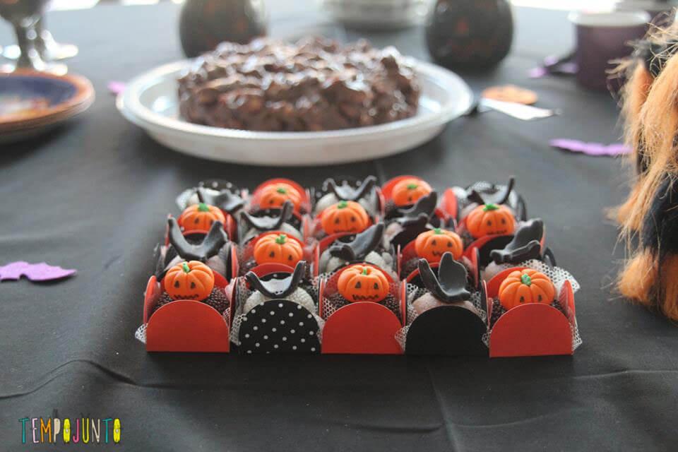 Docinhos do Halloween