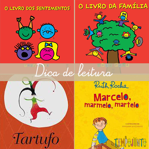 Quatro dicas de leitura para a biblioteca das crianças