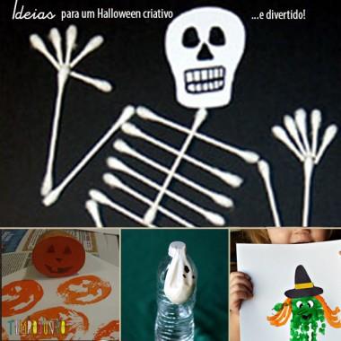 6 Ideias criativas e não tão assustadoras para o Halloween