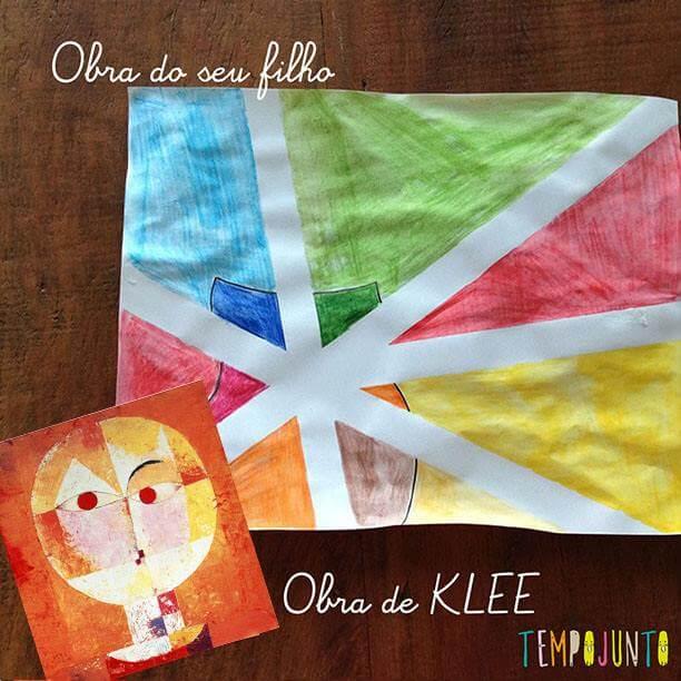 Imagem para a capa do post sobre klee