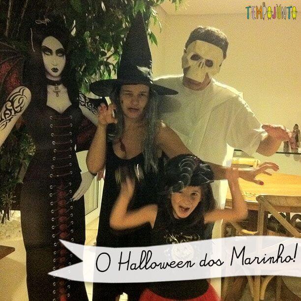 A Festa de Halloween da Família Marinho