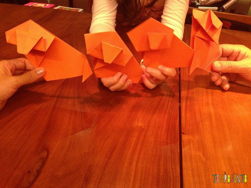 Origamis prontos
