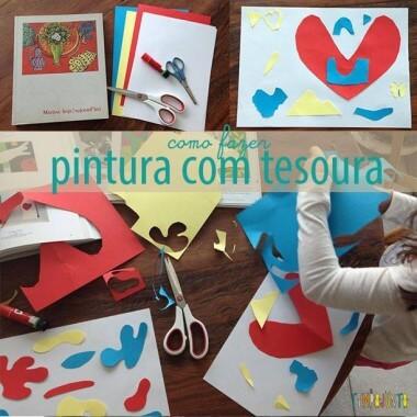 Pintar com tesoura, uma arte inspirada em Matisse