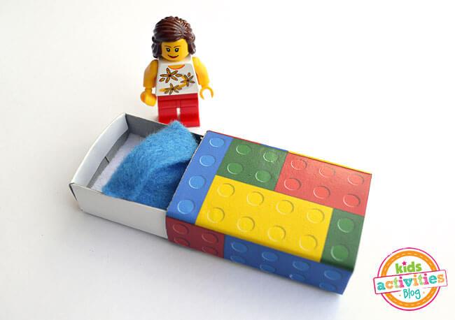 Ideia fim de semana cama de lego
