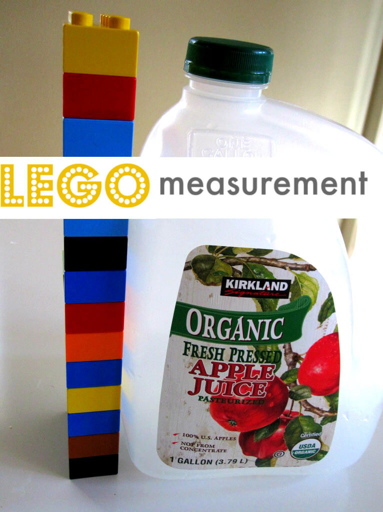 Ideia fim de semana medindo objetos