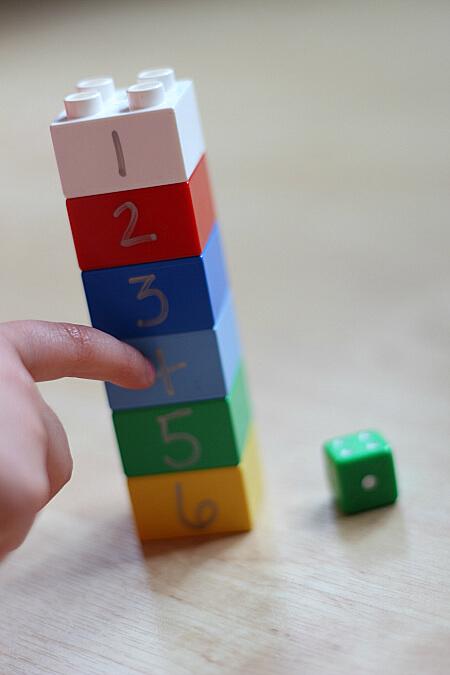 Ideia do fim de semana Contagem de lego