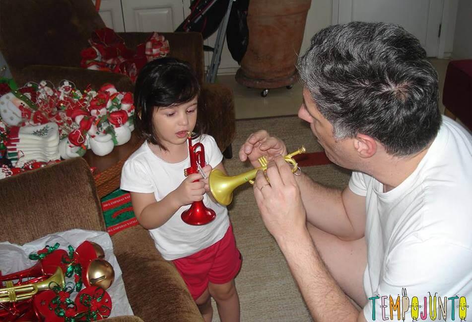 natal mágico para o seu bebê festa