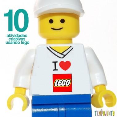 10 maneiras diferente de brincar com lego!