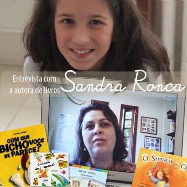 """Sandra Ronca fala do livro brincante """"O Sumiço do O"""""""