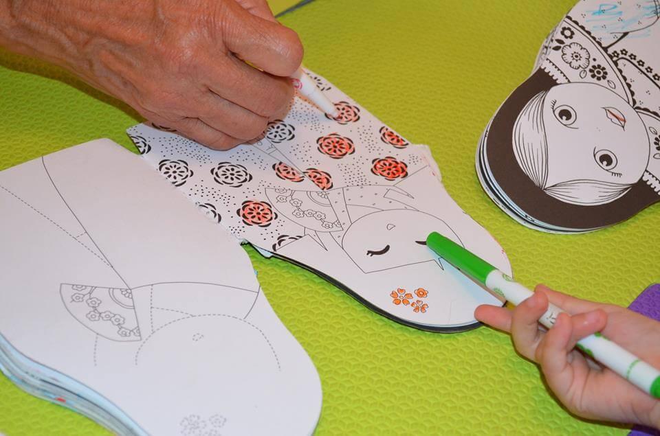 Pintando desenho 10 minutos