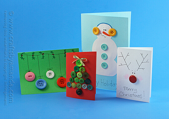 Button-Christmas-Cards-for-Kids-1