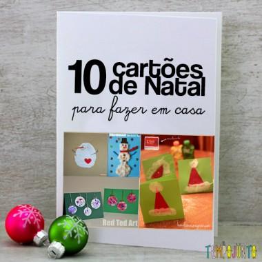 10 Ideias de cartão de natal que as crianças podem fazer