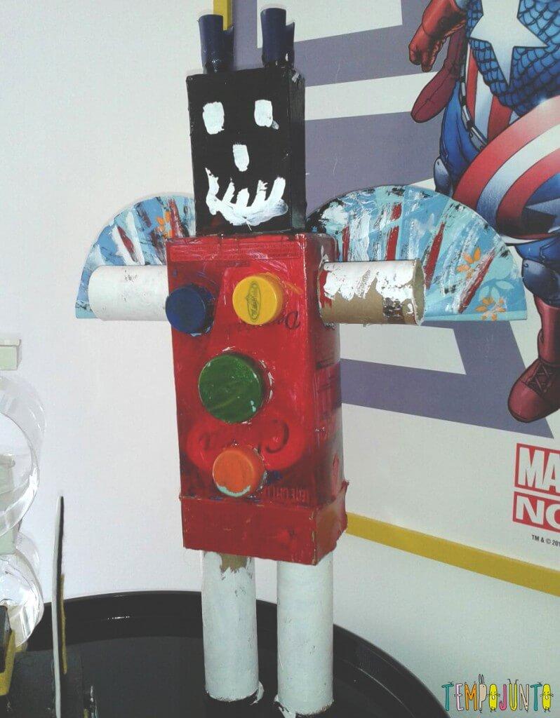 como estimular a criatividade do seu filho - robo do joao