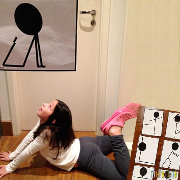 Jogos em familia - Concurso de poses