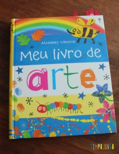 livros de atividades para animar as férias - livro de arte