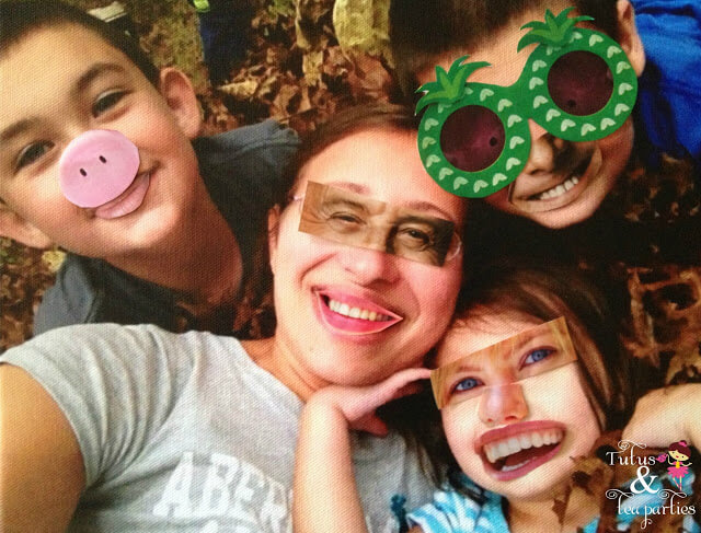 Magazine Cut Out Funny Faces 2