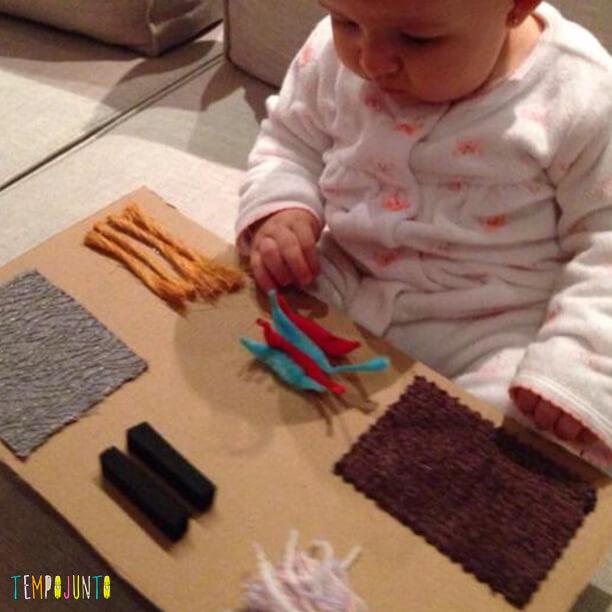 Melhores atividades de descoberta sensorial - quadro sensorial