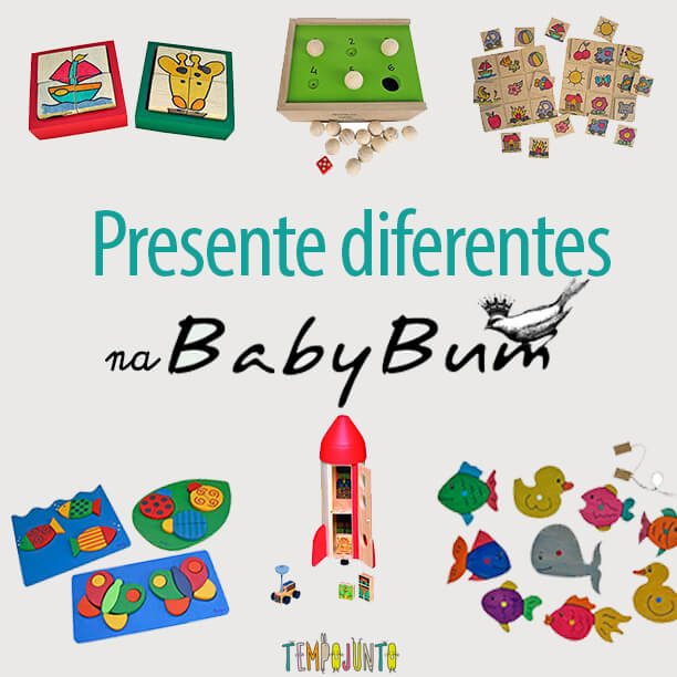 Os presentes diferentes da Baby Bum