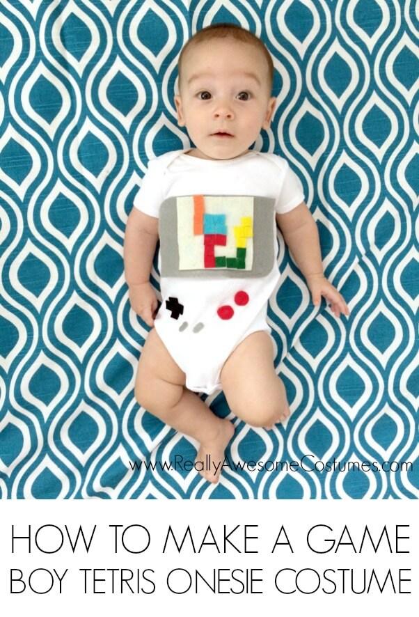 Fantasias de Carnaval para fazer em casa - tetris
