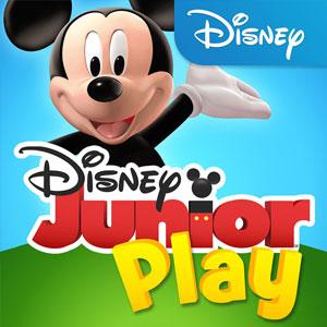 apps para crianças  - app Disney Junior Play