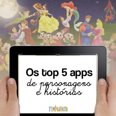 Os top 5 apps para crianças do mundo da fantasia