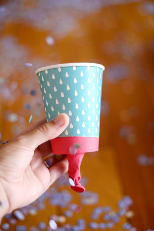 brincadeiras para um carnaval mais sustentável lançador de confete