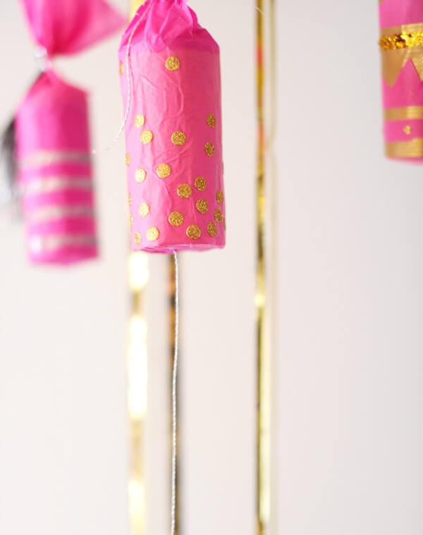 Ideias criativas para brincar no Carnaval - lançador de confete