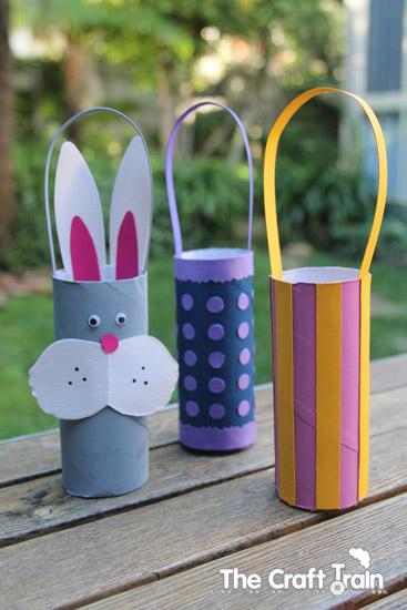 10 ideias criativas para fazer na Páscoa - cestinha de coelho