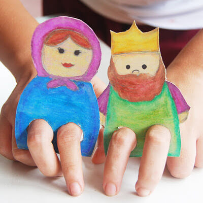 Fantoche de dedos