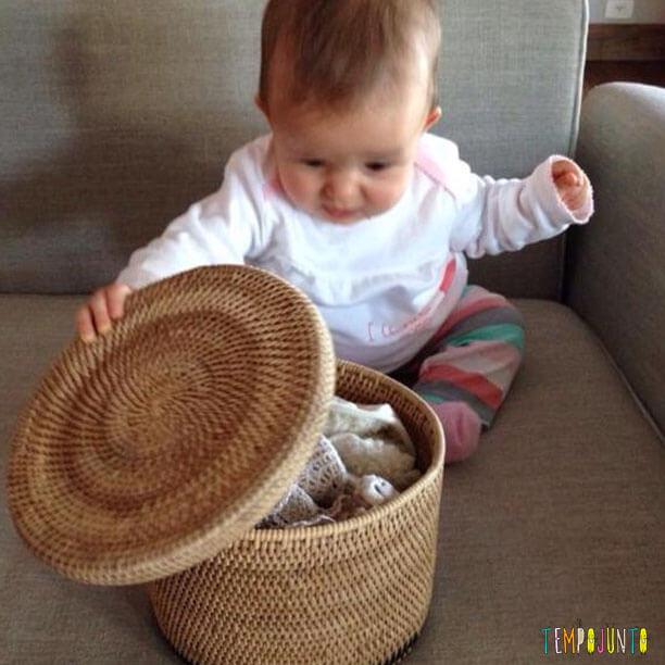 Ideias do que fazer hora de dormir - cesto do tesouro