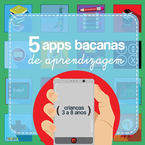 5 apps de aprendizagem para os pequenos de 3 a 8 anos