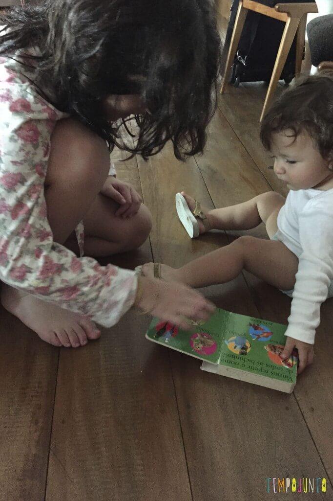 Brincadeiras para reunir bebês e crianças grandes - historias