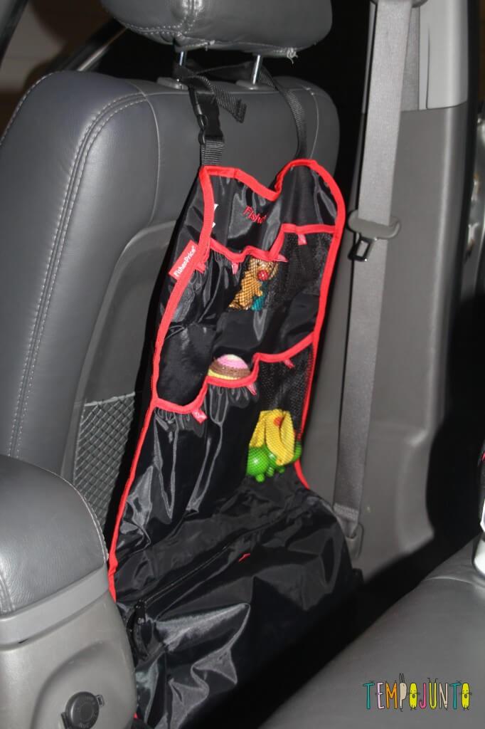 Como distrair o bebê na viagem - brinquedos no carro