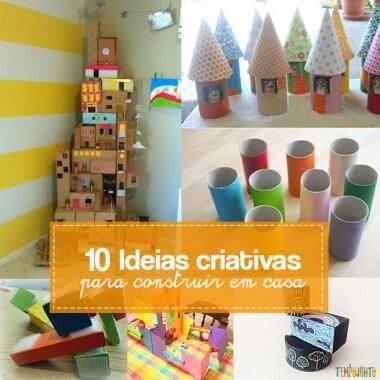 10 maneiras de brincar de construir