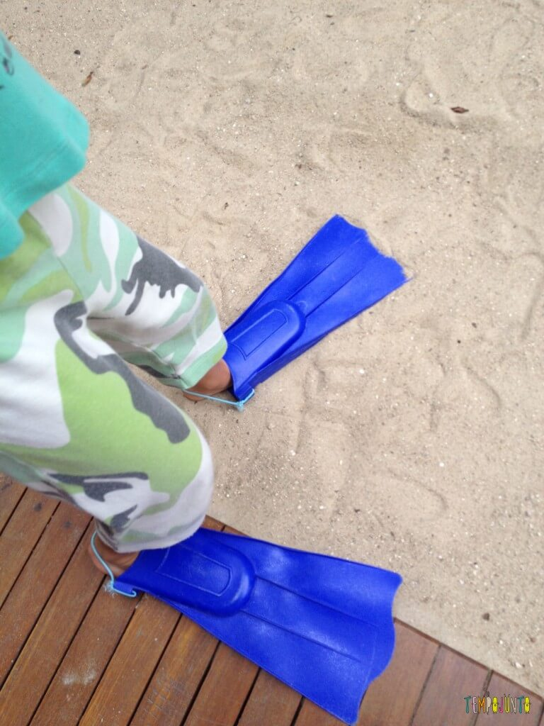 11 Brincadeiras para estimular o sexto e sétimo sentidos das crianças - pe de pato