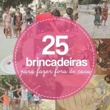 Semana Mundial do Brincar: 25 brincadeiras fora de casa