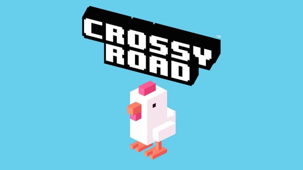 Os apps queridinhos das crianças - crossy road