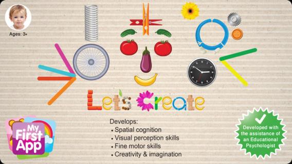 Os apps queridinhos das crianças - lets create my first app