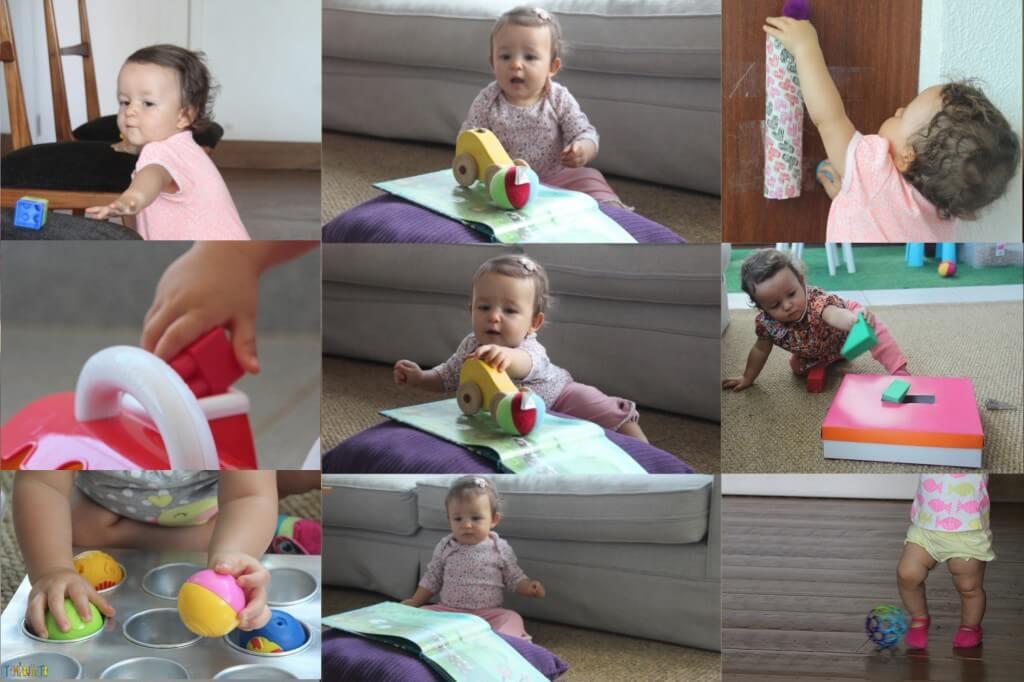 25 brincadeiras para bebês de 12 a 18 meses - 10 primeiras