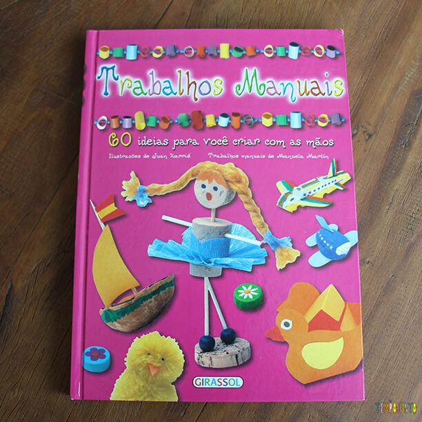 Livros de atividades para as férias - trabalhos manuais