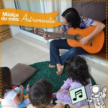 Música do mês: o astronauta